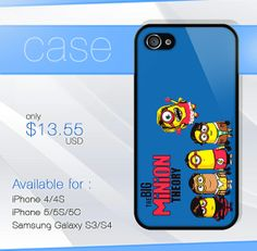 minion the big bang theory iphone case iphone 4 by SIMPELMonogram, $14.99