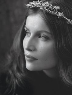 Laetitia Casta par Dominique Issermann.