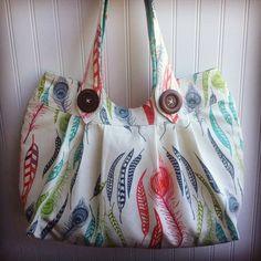 Nikki Tote Bag PDF Sewing Pattern INSTANT by SuperOrangeSewing