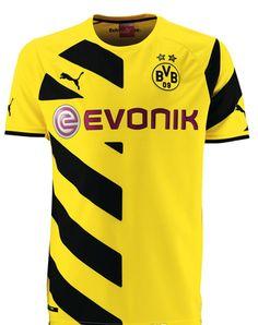 Maillot de foot Dortmund 2014-2015 domicile