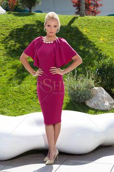 Fofy Pretty Look Purple Dress