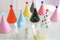 Fiesta de cumpleaños sombreros decoración de la boda cumpleaños decoraciones del partido Kids suministra una variedad 11 unids envío gratis en Artículos de Fiesta de Casa y Jardín en AliExpress.com | Alibaba Group