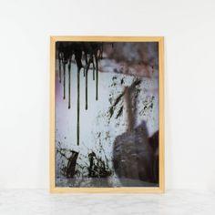 Más allá de la oscuridad, pintura original de Cèlia Izquierdo | Antic&Chic