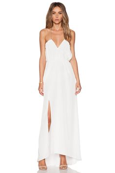 Assali Lively Dress in White | REVOLVE