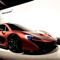 McLaren I hope it will come out in 2013 Cool Sports Cars, Cool Cars, Mclaren P1, Hot Rides, Sweet Cars, Car Photography, My Ride, Fast Cars, Car Pictures