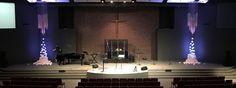 Raining Cotton | Church Stage Design Ideas