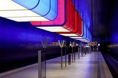 Premios de iluminación. Iluminación de espacios públicos. Universidad Hafencity de Hamburgo ganadora del IALD Radiance Award.