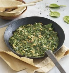 Recipe of the week - Crunchy Peanut Butter Spinach (Gambia) -- New Internationalist