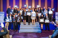 Laureaci konkursu Salon Roku 2015. Coroczny ranking Salonów organizowany jest przez Wydawnictwo Publikator (RynekLazienek.pl)