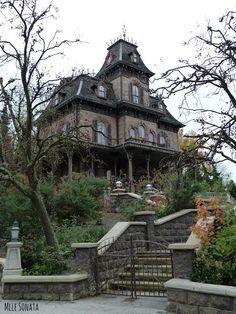 La maison hantée à Disneyland Paris