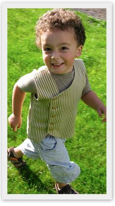 Sewing inspiration for little boys