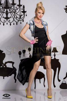 Rochie Mexton Match Essence Black