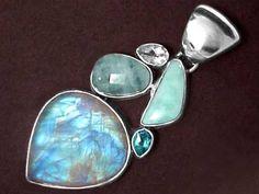 Moonstone Jewelry (rainbow moonstone jewelry & blue moonstone jewelry)