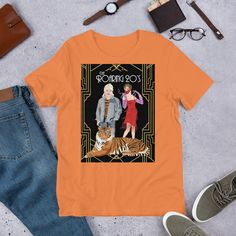 Check out my cool clothing designs at jaymeleeza.com Featuring #tigerking #joeexotic #roaring20s #2020 #2020tshirt #tigerkingnetflix #carolebaskin #flapper #1920s Flapper, King Shirt, Edgy Outfits, Tiger, Punk Fashion, 1920s, Cool Style, Check, Clothing