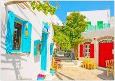 Beautiful colors in Amorgos, Kikladhes, Greece