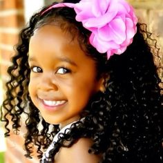 Natural hair style for little girls!!!