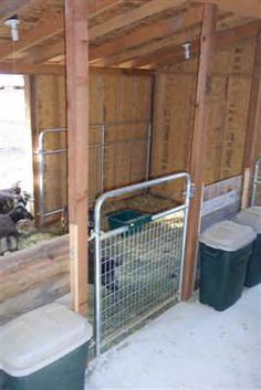 inside barn stall ideas