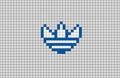 Easy Perler Bead Patterns, Bead Loom Patterns, Cross Stitch Designs, Cross Stitch Patterns, Easy Pixel Art, Pixel Art Templates, Anime Pixel Art, Pixel Pattern, Animal Crossing Game