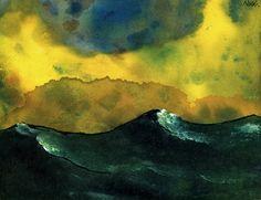 EMIL NOLDE Green Sea