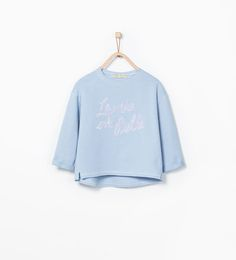 ZARA - SALE - Sequin embroidered sweatshirt