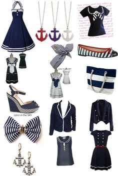"""Pretty sailor!!!!!"" by danielle-101 ❤ liked on Polyvore"