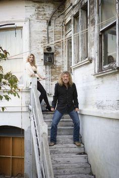 Ahhhh, Robert Plant with Alison Krauss
