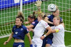 Mondial de foot féminin: les Bleues en demi-finale