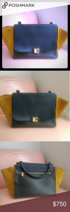 Celine bag 100% Authentic Celine trapeze bag, this item is in a very good condition,Displays minor signs of Wear. #Used Celine Bags Satchels