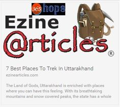 7 Best Places To Trek In Uttarakhand  >>> Known as the Garhwal #Himalayas, it is further divided into the eastern #Kumaon division and western #Garhwal division. The best #trekking season is between April and Early June and then again during October and November. Here is a list of some of the best places to #trek in #Uttarakhand.