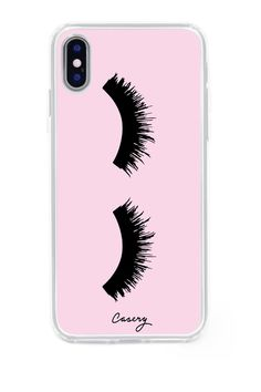 The Casery Lashes iPhone X Case #iphonexcase, #Iphone5c