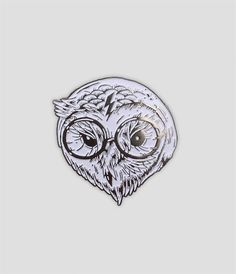 Harry Potter Owl, Miles To Go, Nickel Plating, Pin And Patches, White Enamel, Lapel Pins, Fit, Shape, Badges