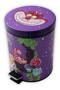 Disney Alice In Wonderland Flower Trash Can