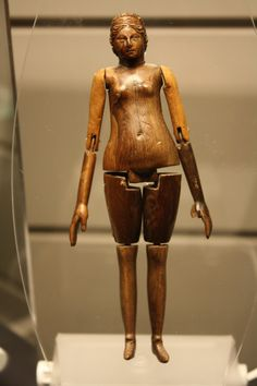 An Ancient Roman Articulated Doll Found in the Sarcophagus of a Mummy of an Eight-Year-Old Girl