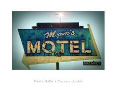Mom's Motel Retro Sign on etsy