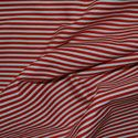 Red and white candy stripe material