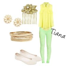 """Modern day Tiana"" by angelica-infinity on Polyvore"