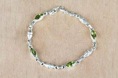#‎Wholesale‬ ‪#‎Retail‬ ‪#‎Beautifully‬ ‪#‎Handmade‬ ‪#Faceted #Peridot Gemstone ‪#Bracelet‬ for Women,by Brillante Jewelry Made from 92.5 sterling Silver #Faceted #Peridot Gemstone #Bracelet‬. And by using Natural Gemtones..Pick this #Bracelet‬ to add new definition to your Personality.About the Brand-Associated with Glamour,style and class,Brillante–Jewelry fashion jewelry appeals to,women across all age-groups.
