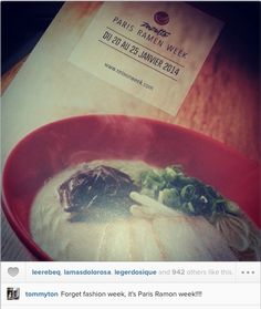 Instagrab #tommyton #parisramenweek Tommy Ton, Ramen, Cabbage, Paris, Vegetables, Food, Veggie Food, Cabbages, Vegetable Recipes