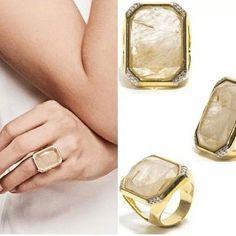 www.sophiejuliete.com.br/estilista/nandabordon Semi jóia banho ouro 18k quartzo rutilado zirconia luxo moda acessórios