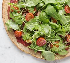Deliciously Ella Cauliflower Crust Pizza (New and Improved! Quinoa Pizza Crust, Cauliflower Crust Pizza, Vegan Cauliflower, Vegan Pizza, Vegetarian Recipes, Cooking Recipes, Healthy Recipes, Pizza Recipes, Lunch Recipes