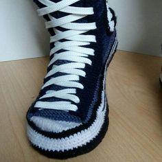 Кроссовки Converse, Вязаные Крючком Кеды Converse, Связанная Крючком Обувь, aa582175b9a