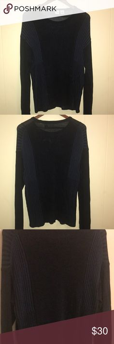 A/X sweater😍 Gorgeous Armani Exchange dark blue sweater  Long sleeve Very warm and nice fitting A/X Armani Exchange Sweaters Crew & Scoop Necks