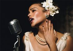 love Billie Holiday--her music and her style!