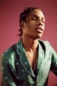 A$AP ROCKY features in this month's Vogue taking writer Hermione Eyre behind the scenes with the A$AP Mob