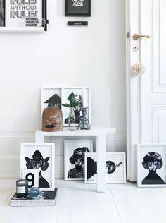 Rädda Barnens design shop - Petra Bindel with stylist Lotta Agaton