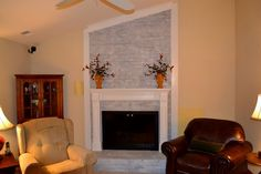 Decoration, Firplace Redesign Makeover: Some Point Of View On Fireplace Makeover Charlotte Nc, Home Goods Decor, Home Decor, Living Room Remodel, Office Interiors, Room Interior, Home Office, Interior Decorating, Holiday Decor
