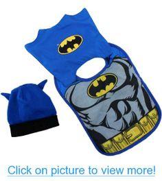 Batman Infant Caped Bib Hat Set IBX41846