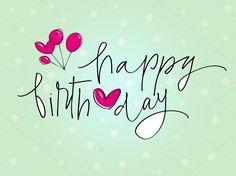 Scarica - Buon Compleanno — Illustrazione stock #30464951