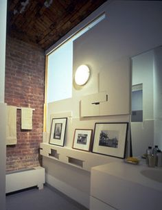 K Loft - contemporary - bathroom - new york - by George Ranalli Architect
