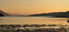 loch duich sunset  scotland